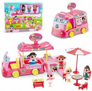 Детская игрушка, LOL в машинке